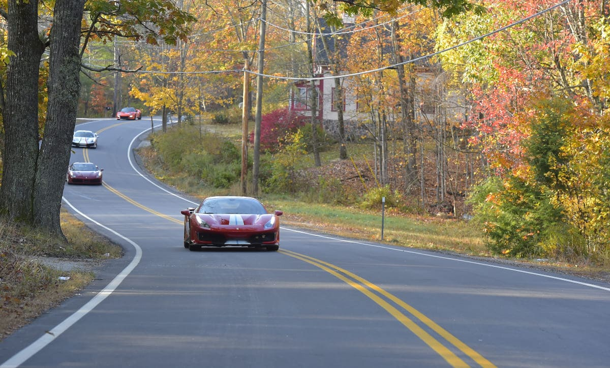 Canossa North America returns to the epic roads of New England in 2021, to celebrate the magnificence of fall foliage