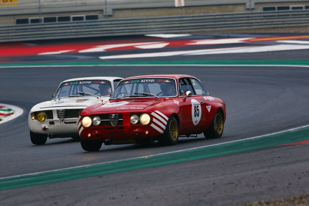 Alfa Revival Cup, Monza - Racing driving experiences.